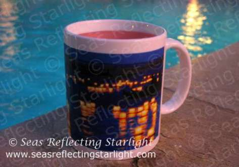 Lantern Floating Festival mug