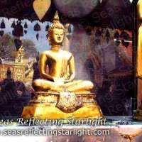 Weekly Photo Challenge: Beyond - Wat Phrathat Doi Suthep Reflections