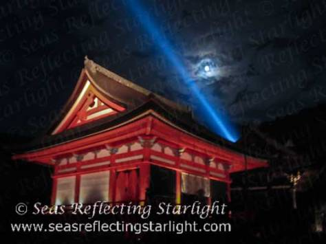 Full Moon Over Kiyomizu-Dera  by Seas Reflecting Starlight.