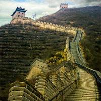 Weekly Photo Challenge: Up - Up the Great Wall