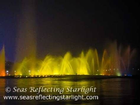 West Lake Colorful Light-Show by Seas Reflecting Starlight
